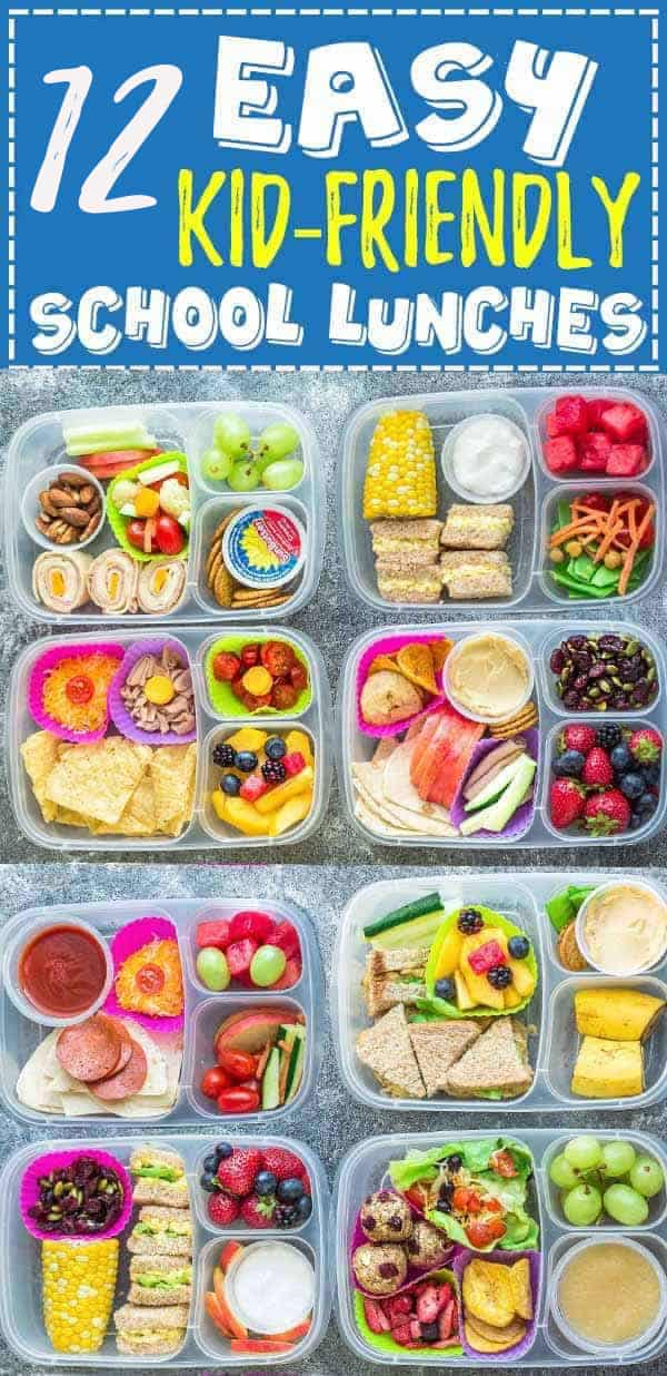 f259ce3b9022 12 School Lunch Ideas - Healthy and Easy School Lunches