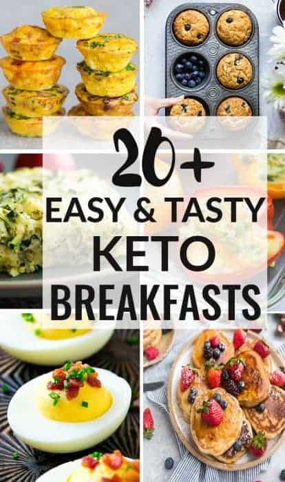 20+ Easy and Tasty Keto Breakfasts