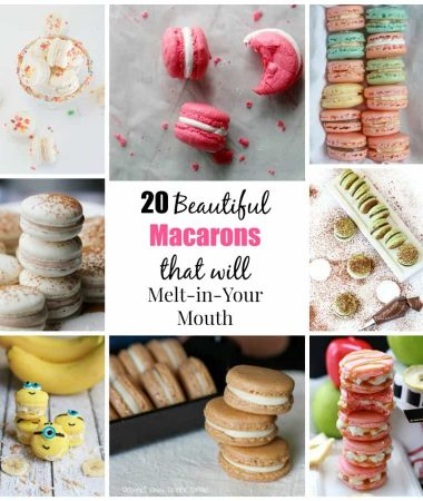 20 Beautiful Macarons that Will Melt-in-Your Mouth
