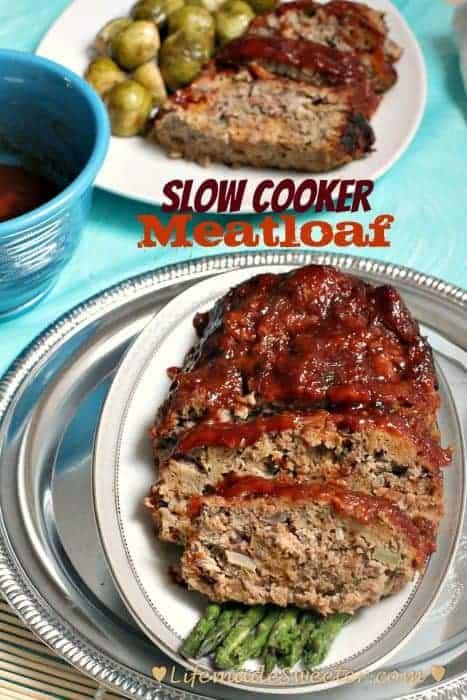 Slow Cooker / Crockpot Meatloaf