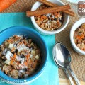 Coconut Carrot Cake Oatmeal - Life made Sweeter 10
