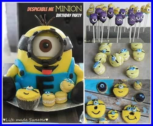 Strange Ultimate Minion Cake And Party Life Made Sweeter Funny Birthday Cards Online Inifofree Goldxyz
