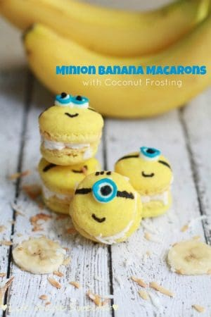 Minion Banana Macarons - Life made Sweeter
