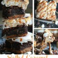 Salted Caramel S'mores Brownies - Life Made Sweeter