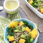 {FALL} Quinoa Salad with Roasted Butternut Squash and Wasabi Citrus Dressing @lifemadesweeter.jpg