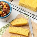 {Slow Cooker} Butternut Squash Cornbread by @LifeMadeSweeter