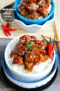 {Slow Cooker} Sriracha Chili Chicken by Life Made Sweeter