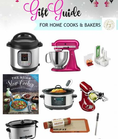 2016 Holiday Gift Guide for Home Cooks & Bakers