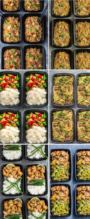 25+ Healthier Than Takeout Meal Prep Recipes