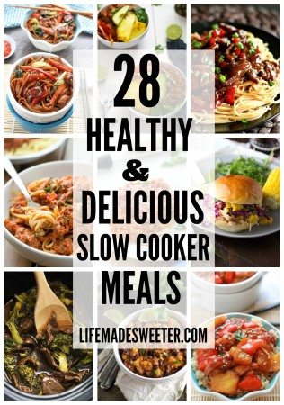 28+ Healthy & Delicious Slow Cooker Meals