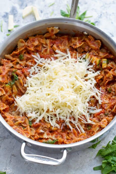 Wonderful Skillet Lasagna Cottage Cheese   Skillet Lasagna Easy One Pot 30 Minute Meal
