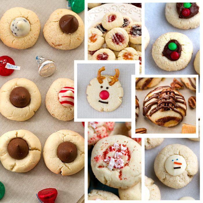 Shortbread Thumbprint Cookies – 7 Ways + Video!