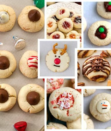 Shortbread Thumbprint Cookies – 7 Ways + Video!