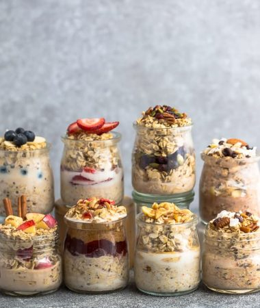 Best Overnight Oats – 8 Ways