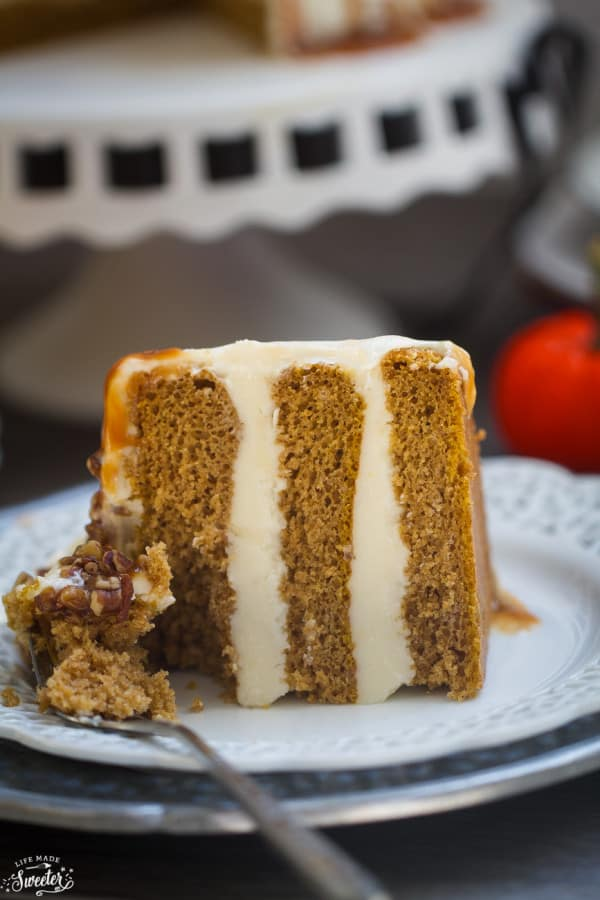 Apple Spice Cake Made With Oil