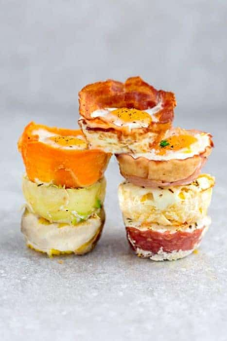 Baked Egg Cups – 9 Ways