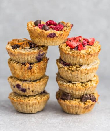 Baked Oatmeal Cups – 10 Ways