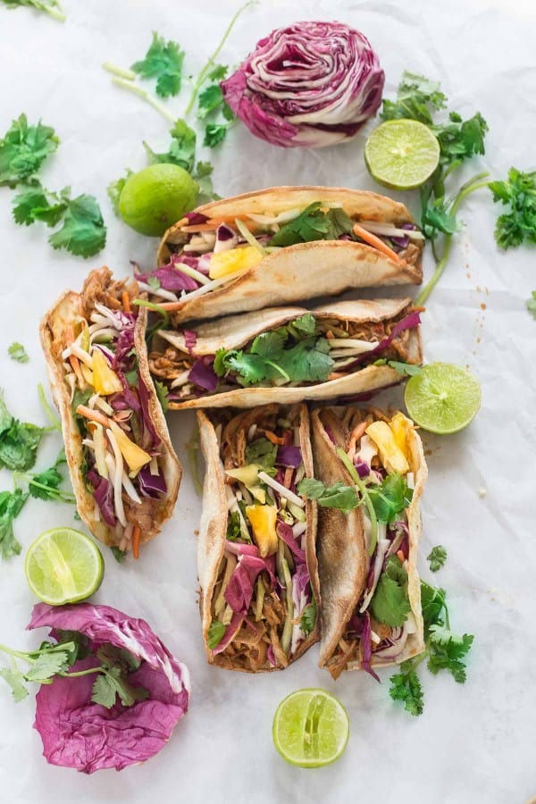 Banh Mi Tacos makes the perfect easy weeknight meal!