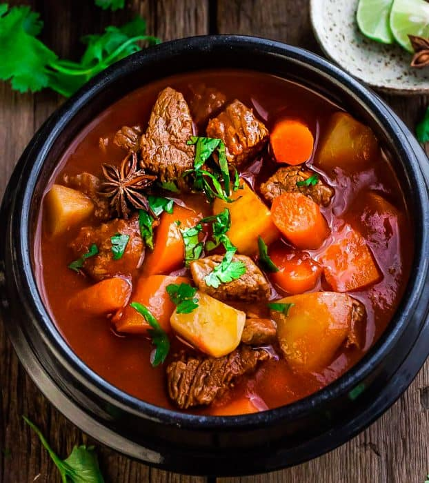 Slow Cooker Beef Stew (Homemade)