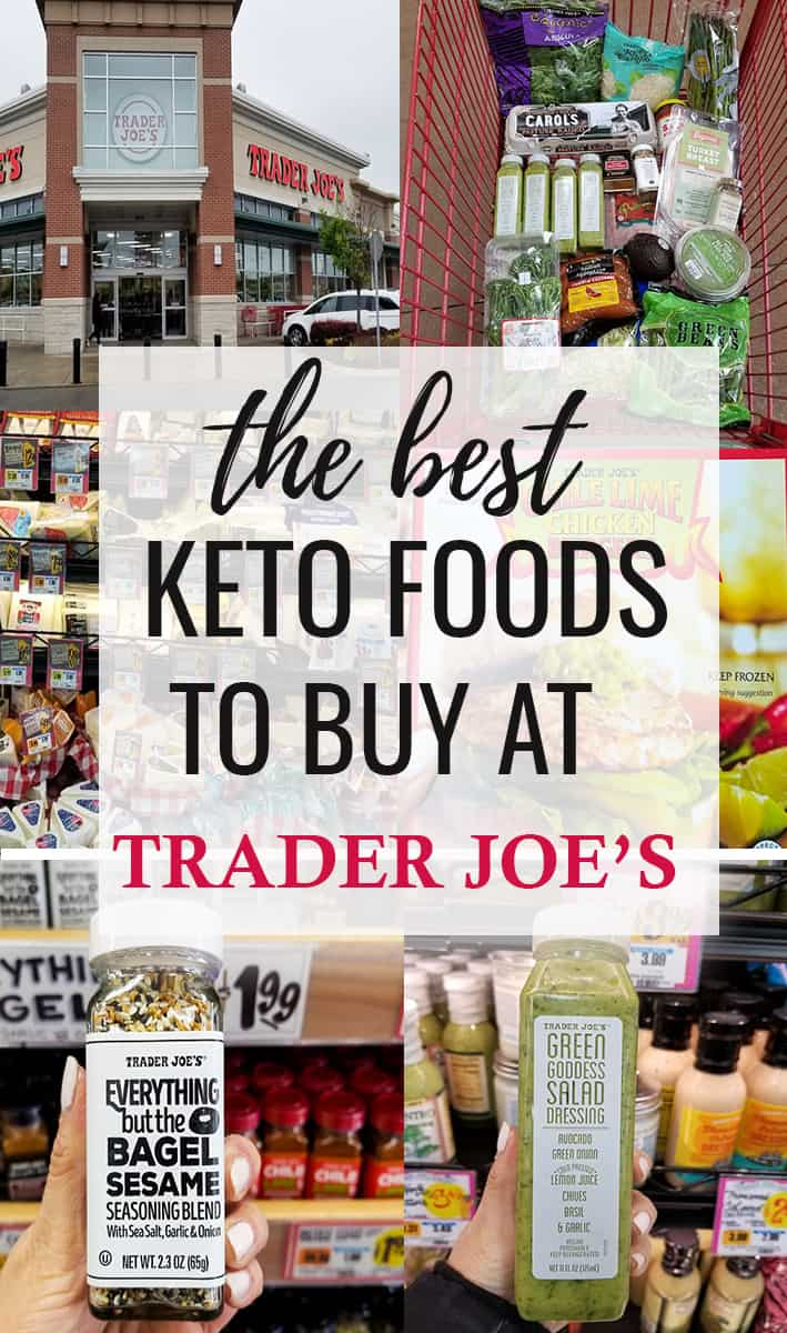 Best Trader Joe's Products to buy on Keto - Ultimate