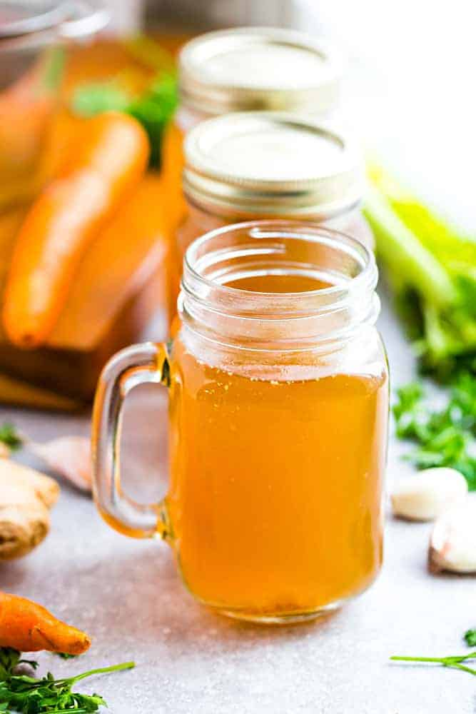 Instant Pot Bone Broth Recipe Slow Cooker Stove Top Soup Making