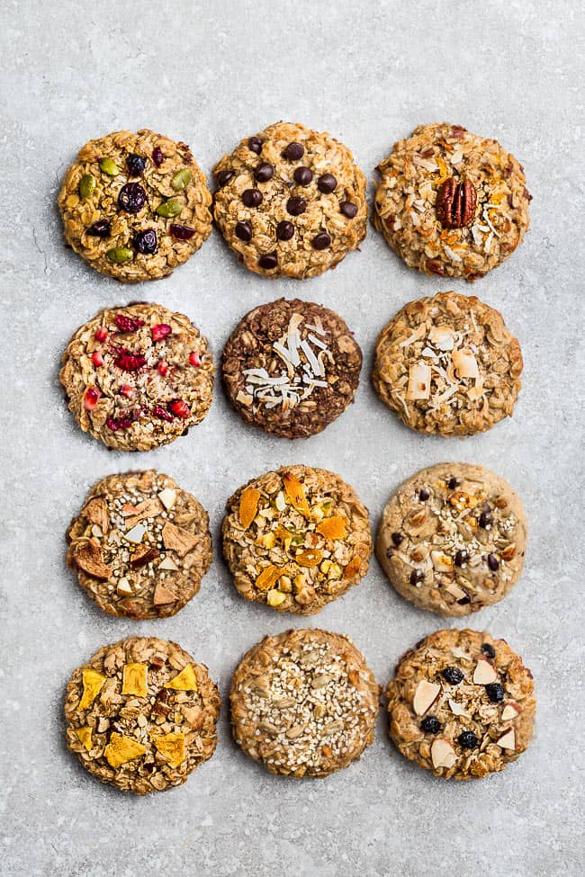 Breakfast Cookies - 12 Ways - photo picture recipe picture-1-7