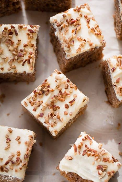 Brown Sugar Butterscotch Sheet Cake makes an easy dessert for the holidays.