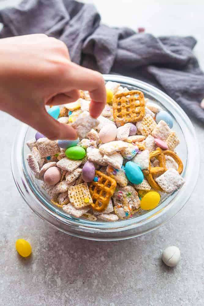 Bunny bait bunny chow snack mix healthier life made sweeter bunny bait the perfect easy sweet and salty snack to munch on at spring or ccuart