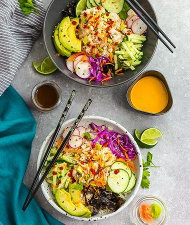 California Roll Sushi Bowls – Low Carb, Keto