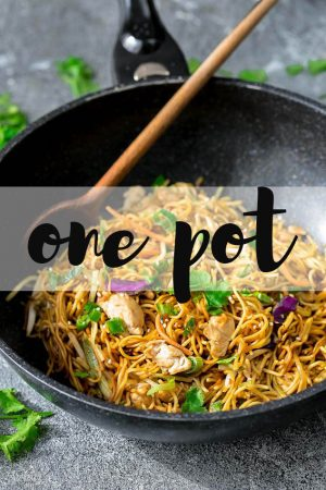 Chicken Chow Mein Noodles + Video