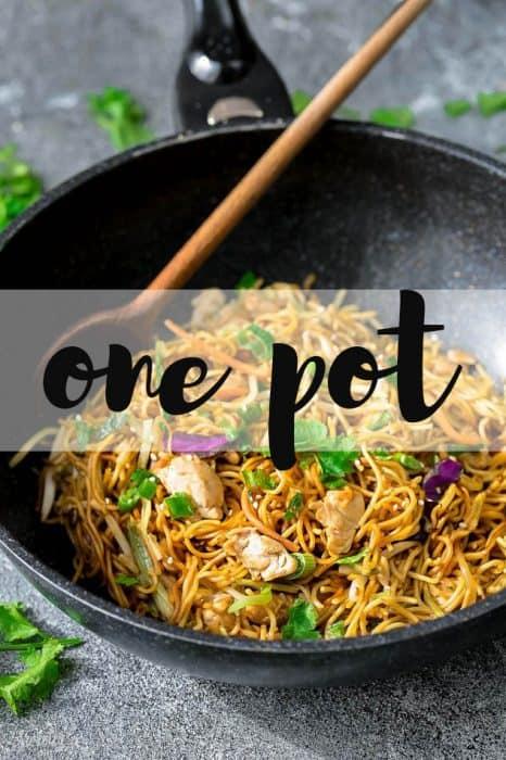 Chicken Chow Mein Noodles + Video