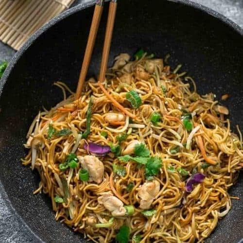 Chicken chow mein noodles the best easy one pot pan authentic chicken chow mein noodles the best easy one pot pan authentic chinese recipe forumfinder Images