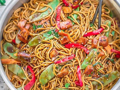 Chicken Lo Mein Easy Authentic Noodle Recipe Paleo Keto Options
