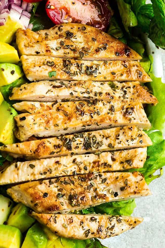 Chicken Shawarma Salad Recipe Easy Keto Whole30 Lunch Idea