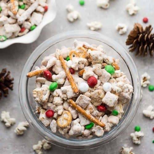 Christmas Popcorn Recipes.Reindeer Munch