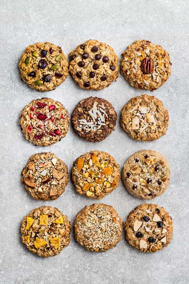 Oatmeal Cookies The Best Classic Cookie Recipe 12 Different Ways