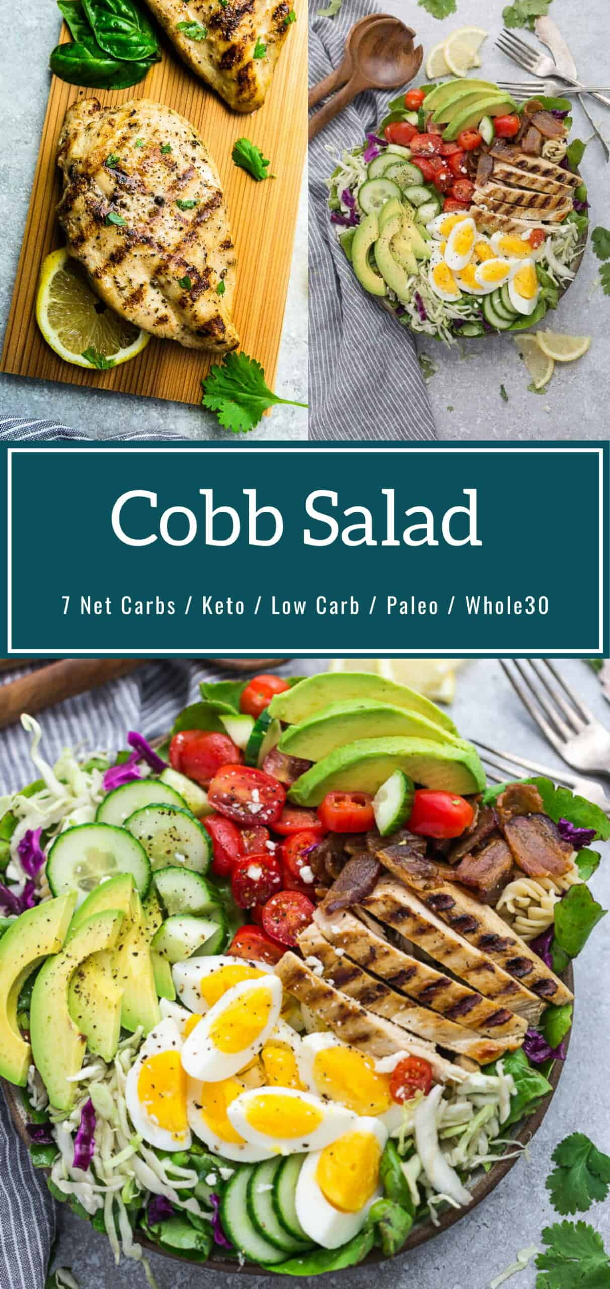 Cobb Salad With Chicken Recipe