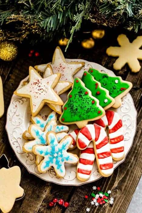 Perfect Sugar Cookies – Cut Out Christmas Shapes