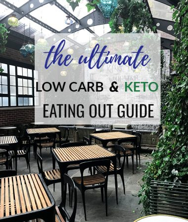 How To Stay Low Carb / Keto When Dining Out
