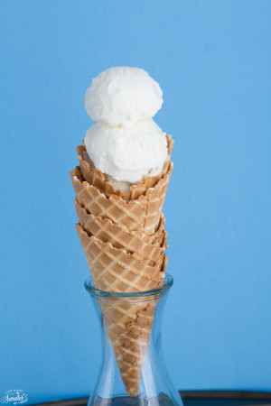 Easy No Churn Vanilla Ice Cream