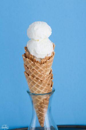 Easy No Churn Vanilla Ice Cream