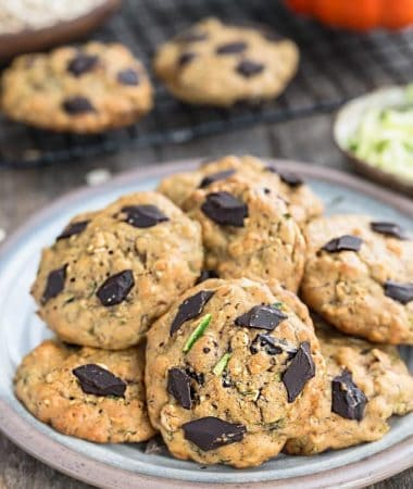 Zucchini Breakfast Cookies (Flourless)