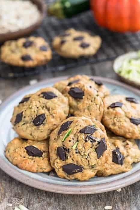 Zucchini Breakfast Cookies (Flourless)