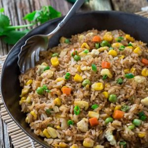 Best fried rice perfect authentic recipe video perfect chinese fried rice video ccuart Image collections