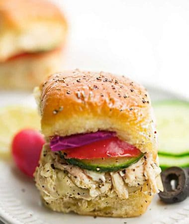 Mediterranean Chicken Sliders