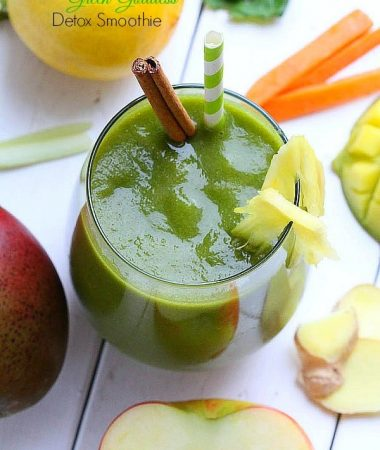 Green Goddess Detox Smoothie