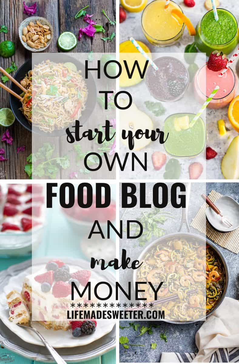 How To Start a Food Blog - Step by Step Guide on everything you need to know how to create your own food blog website. With step-by-step photos of WordPress, Blue Host and more!