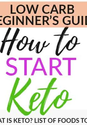 How to start the Ketogenic Diet - a detailed guide for beginners with useful tips, a list of what to eat and things to expect including the Keto flu, grocery shopping list, supplements you can take, meal prepping tips and macro calculating apps.