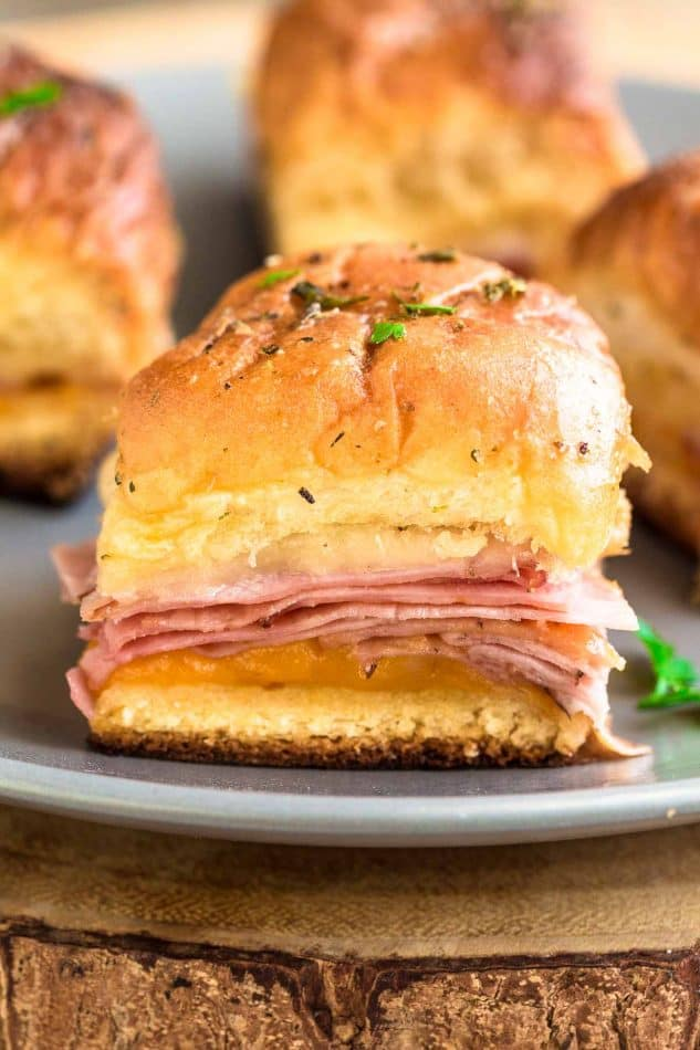 Ham And Cheese Sliders Hot Oven Baked Life Made Sweeter