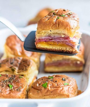 Ham and Cheese Sliders + Video